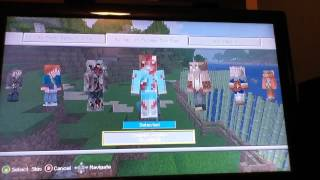 How to Get Free Skins on Minecraft Xbox 360 edition!!!(EASY!!!!!!!!!)