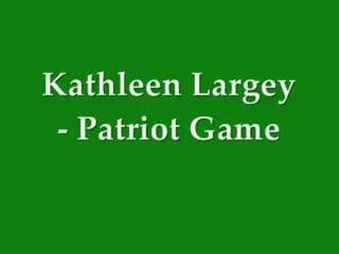 Kathleen Largey - Patriot Game