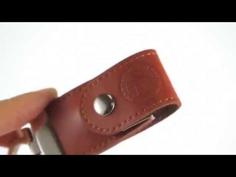 Leather Style Custom USB Drives