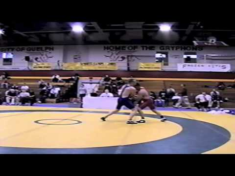 2002 Senior Greco National Championships: 74 kg Jamie Shepley vs. Andy Mitton