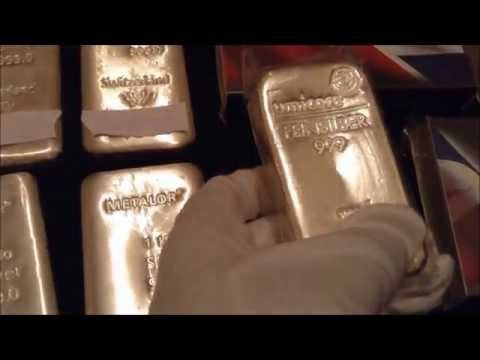 Umicore 1Kg Silver Bar My Silver Collection Investing in Silver 2016