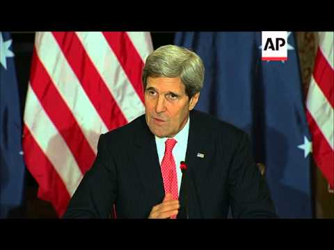 Secretary of State John Kerry says the U.S. and Afghanistan have reached agreement on language for a
