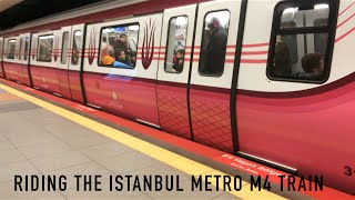 Riding The Istanbul Metro M4 Train