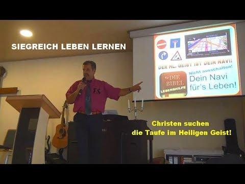 Christen Suchen Die Taufe Im Heiligen Geist Siegreich Leben Lernen Teil 203 Ferdi Schmitt