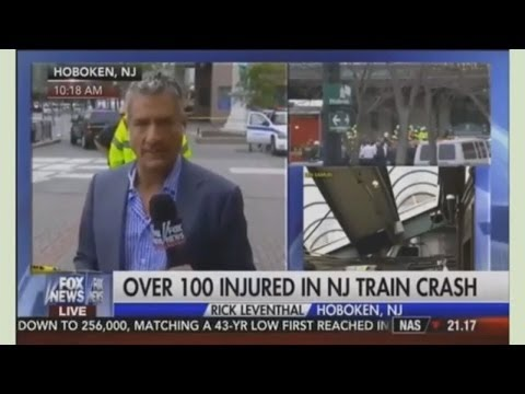 BREAKING & America's Newsroom| Converge 9/29/16  Hoboken New Jersey Train -  Trump Hits Clinton