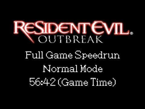 Resident Evil: Outbreak (PS2) Speedrun - Single-Segment (Normal/Offline) - 56:42