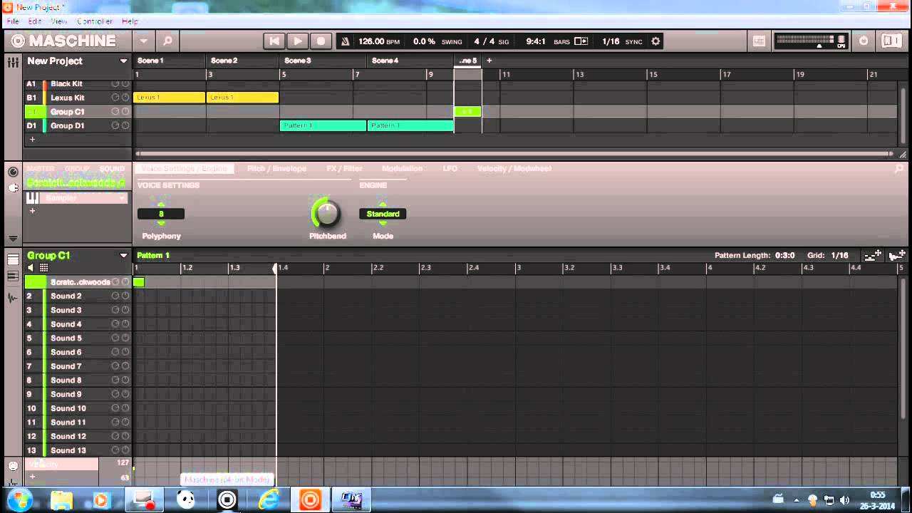 soundation how to change tempo