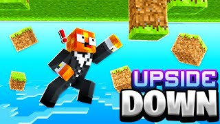 I Attempted To Beat Minecraft Upside Down - Challenge