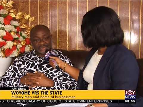 Woyome vrs the State - AM Show on JoyNews (20-9-17)