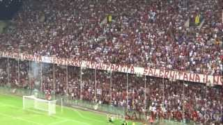 """Coro Curva Sud """"io ti voglio dire"""" durante Salernitana Lazio del 07/08/2012"""