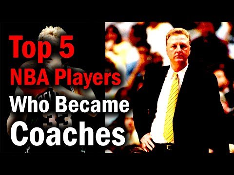 Top 5 NBA Players...Who Became Coaches