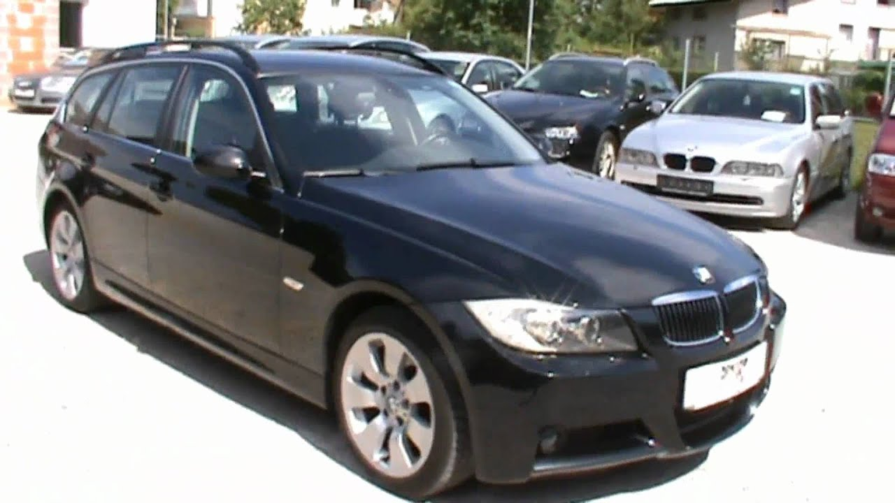 2007 bmw 325d touring m optik full review start up engine. Black Bedroom Furniture Sets. Home Design Ideas