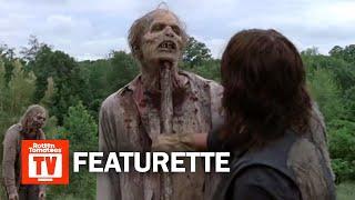 The Walking Dead S09E02 Featurette | 'Aaron's Logroll Scene' | Rotten Tomatoes TV