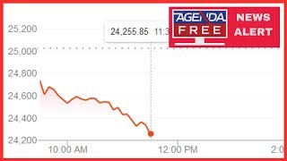 Stocks down 600 after Hauwei Arrest - LIVE BREAKING NEWS COVERAGE