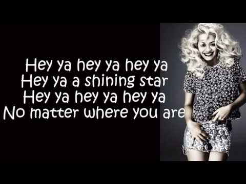 Rita Ora   Shine Ya Light  (Lyrics On Screen)