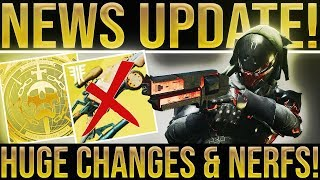 Destiny 2. PRIME ENGRAM BUFF & HUGE CRUCIBLE CHANGES! Scourge of The Past Raid, New Update & More!
