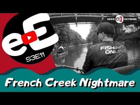 Erie Extreme #39 | We Go Fishing With A Super Model & Hammer A Ton Of French Creek Fish