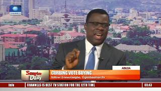 Vote Buying: INEC Insists There Will Be No Incident Form In 2019 Elections – Mike Igini Pt.2 thumbnail