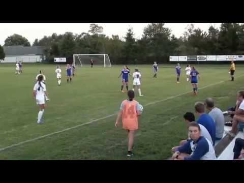 Silver Creek vs New Albany Girls High School Soccer 09062016
