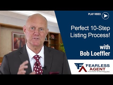 Real Estate Coaching – 10 Step Listing Process