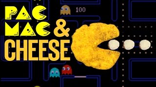 Deep Fried Bacon Mac & Cheese Pac Man Recipe  |  HellthyJunkFood