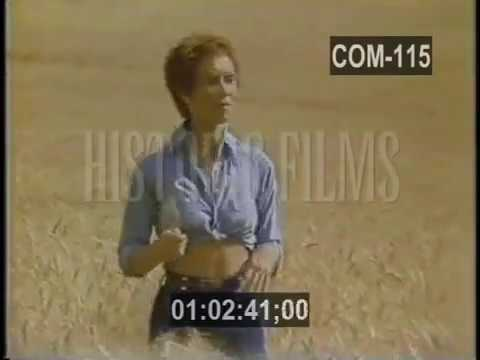 CELEBRITY VINTAGE COMMERCIAL - NABISCO WHEAT THINS - SANDY DUNCAN