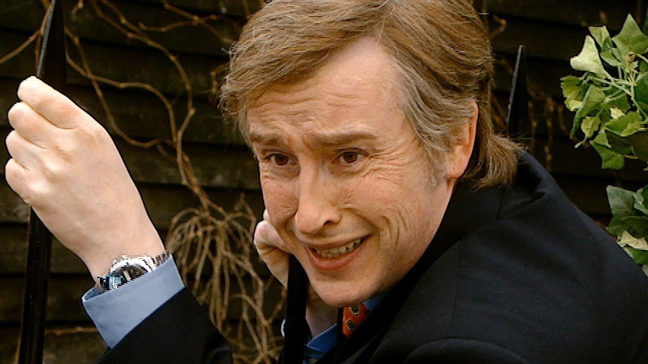 i ve pierced my foot on a spike i m alan partridge bbc youtube