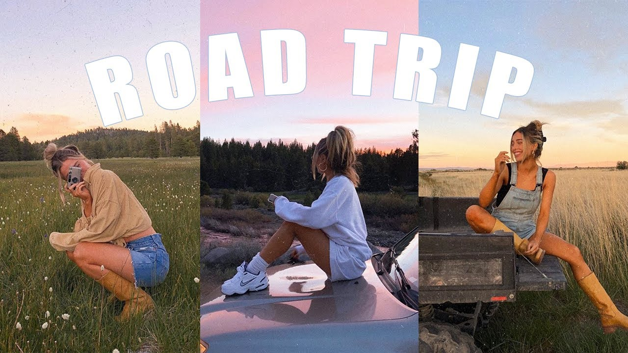 ROAD TRIP VLOG | THREE WORDS TO DESCRIBE EACH OTHER, NOSTALGIC CONVERSATIONS, SUNSETS