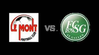 Fc Le mont les vs Fc St Gallen (17.09.16)