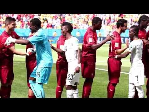 Cristiano Ronaldo trifft und fliegt | Portugal - Ghana 2:1 | FIFA WM 2014 Brasilien