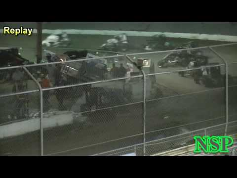 August 19, 2016 Thomas Walker Into Water Barrels Deming Speedway
