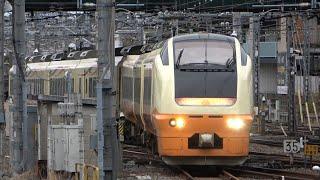 2021/02/26 【救済臨返却回送】E653系 U-101編成大宮駅 | JR East: E653 Series U-101 Set at Omiya