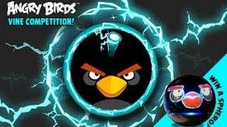 Мультик ИГРА для детей энгри бердз уровни 13 - 15 Angry birds Bomb Злые птички бомбы против свинок