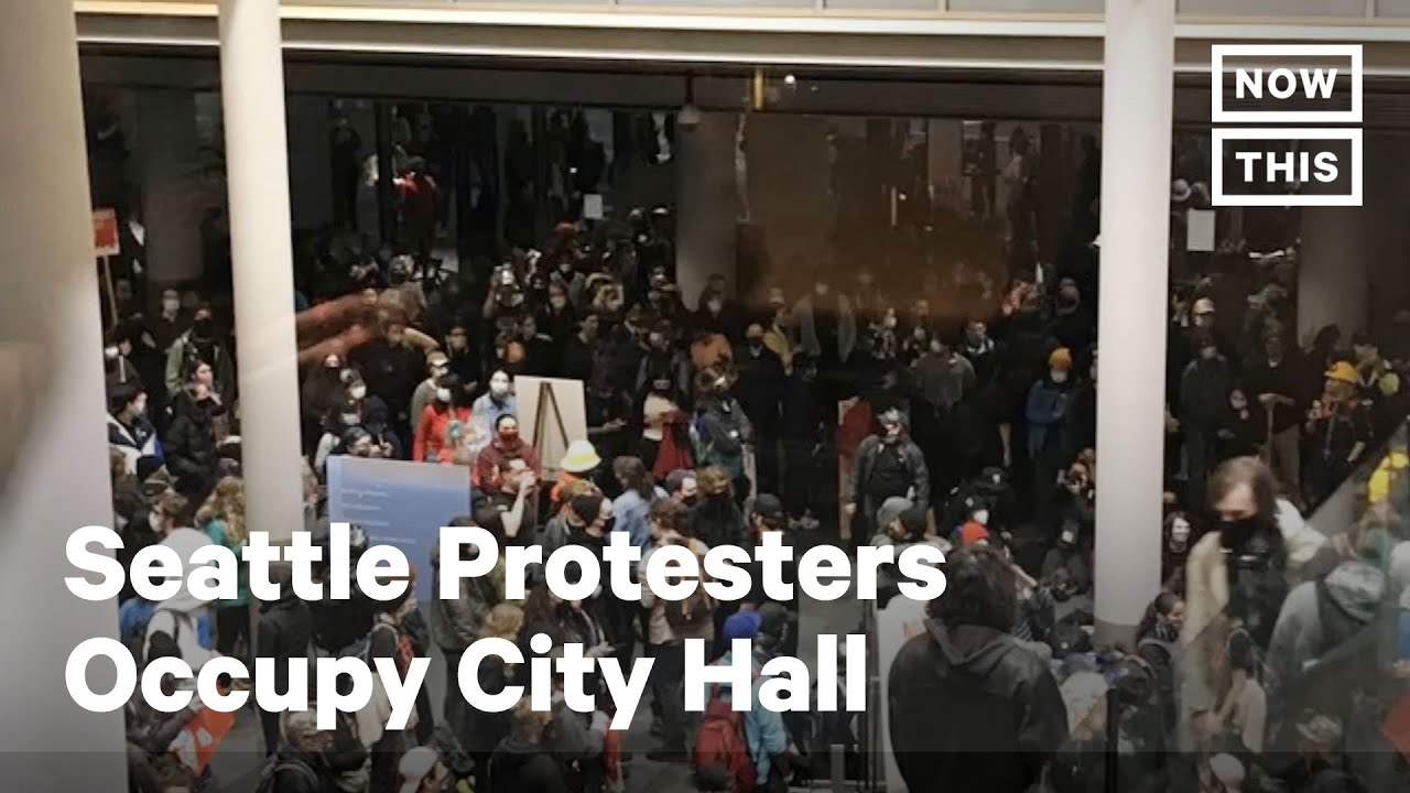 Seattle protesters take City Hall, declare police-free autonomous ...