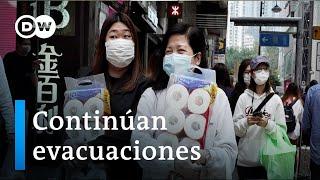 Video: Coronavirus - Continúan evacuaciones de turistas en China