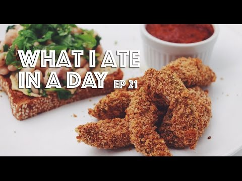 WHAT I ATE IN A DAY (VEGAN) EP #21