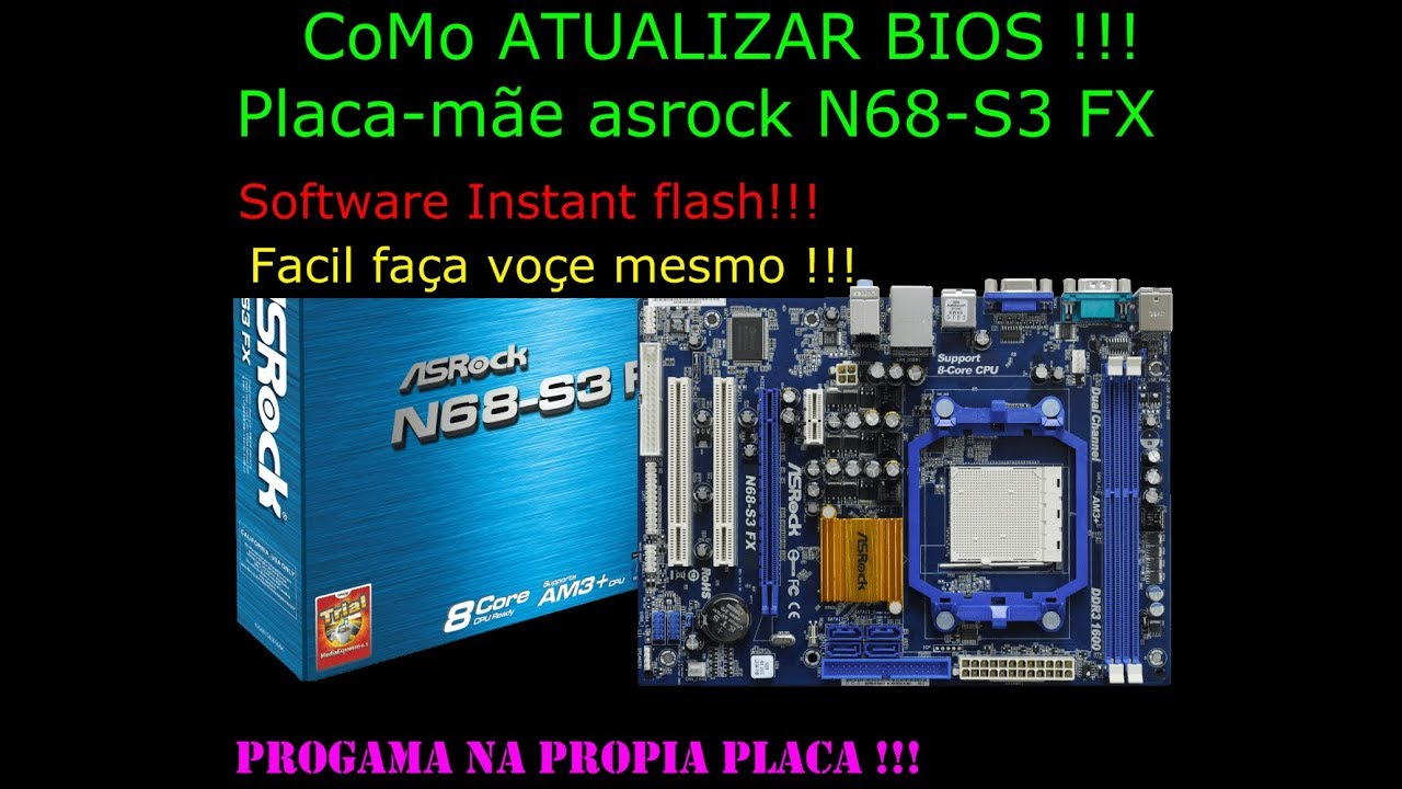 Asrock N68C-SE Instant Boot XP