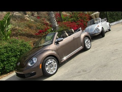 2013 Volkswagen Beetle Convertible First Drive Review