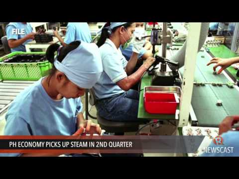 PH economy picks up steam in 2nd quarter