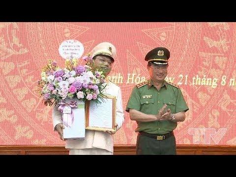 Công an tỉnh Thanh Hóa có Giám đốc mới