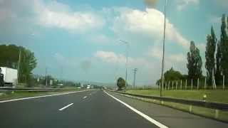 Driving from Ružomberok to Poprad (northern Slovakia)