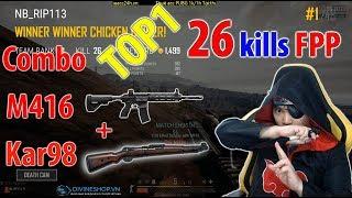 Gánh con BOT WIND về top 1 FPP l 26 kills