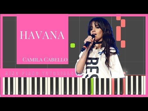 Camila Cabello - Havana Piano Cover Tutorial (Ming Piano Tutorials) Learn how to play [Synthesia]