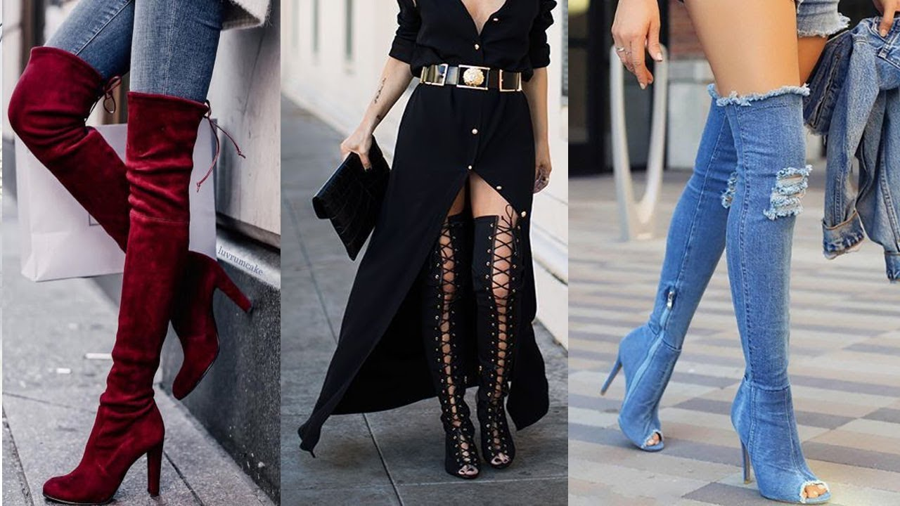 8e548ba2808 Awesome Knee High Boots Ideas 2017 - 2018 for Girls   Women - YouTube