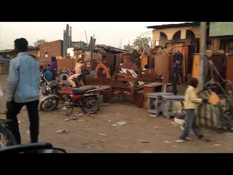 Streets of N'Djamena, Tchad | vlog #441