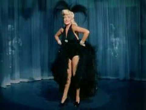 Betty grable the  of the very merry widow
