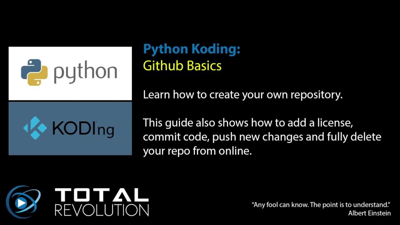 Github Repository Basics (Create, Clone, Commit, Push, Delete)