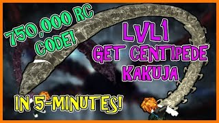[750K RC CODE] COMMENT À GET CENTIPEDE AT LVL1 IN 2-MINUTES! Ro-Ghoul - France Roblox
