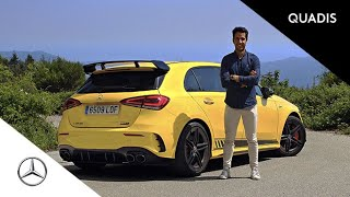 Mercedes-AMG A 45 S 4 MATIC+ 2020 | Prueba / Test / video en español | quadis.es