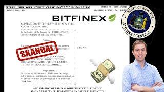 Bitfinex verliert 850 Mio. USD Kunden Guthaben und versucht es zu verschleiern 🤦🏻♂️😬